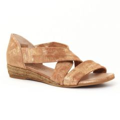 sandales-semelle-corde doré: même style de chaussures en ligne pour femmes que les Les Tropéziennes