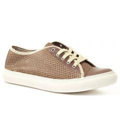 tennis marron python: même style de chaussures en ligne pour femmes que les Rieker