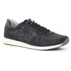 tennis noir: même style de chaussures en ligne pour femmes que les Scarlatine
