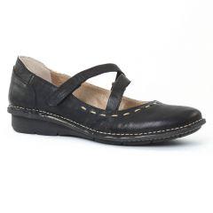 Chaussures femme été 2016 - trotteurs-babies Khrio noir