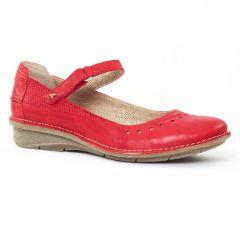 trotteurs-babies rouge: même style de chaussures en ligne pour femmes que les Rieker