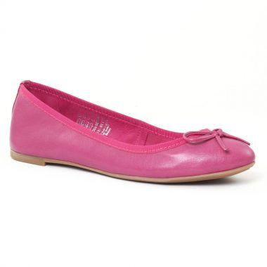 Ballerines Marco Tozzi 22151 Fuxia, vue principale de la chaussure femme