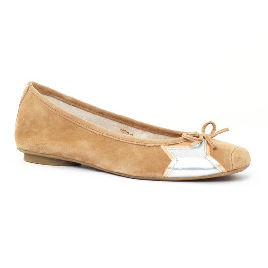 Ballerines Scarlatine 55190 Taupe, vue principale de la chaussure femme