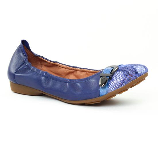 Mam'Zelle NOEMY Bleu - Chaussures Ballerines Femme