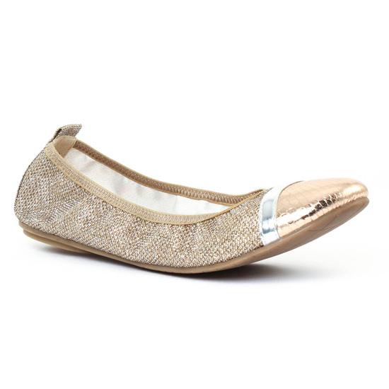 Ballerines Tamaris 22111 Platine, vue principale de la chaussure femme