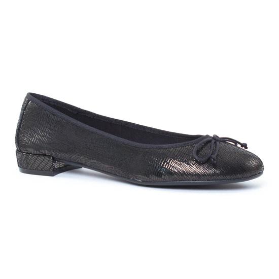 Ballerines Maria Jaen 2143 Noir, vue principale de la chaussure femme