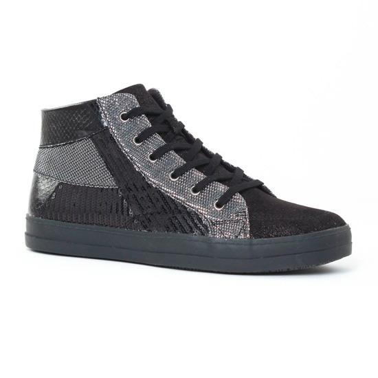 Tennis Et Baskets Mode Tamaris 25200 Black, vue principale de la chaussure femme