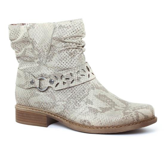 Bottines Et Boots Rieker Z4165 Hay, vue principale de la chaussure femme