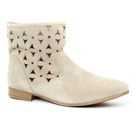 Bottines Et Boots Scarlatine 1228 Sable, vue principale de la chaussure femme