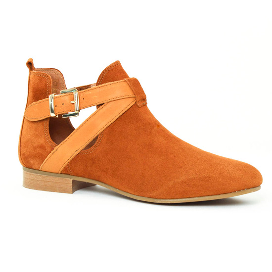 Bottines Et Boots Scarlatine 8476ah Ambre, vue principale de la chaussure femme