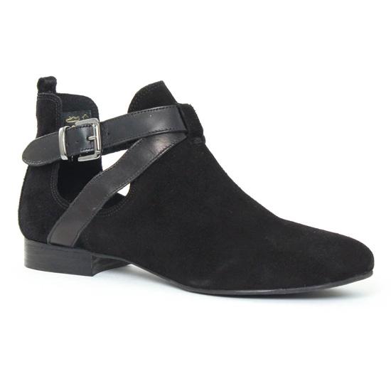Bottines Et Boots Scarlatine 8476ah Noir, vue principale de la chaussure femme