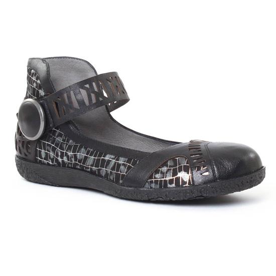 Babies Fugitive Jessy Noir, vue principale de la chaussure femme
