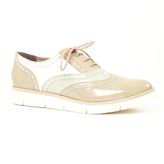 d49f49da4693c Chaussures À Lacets Marco Tozzi 23707 Dune, vue principale de la chaussure  femme