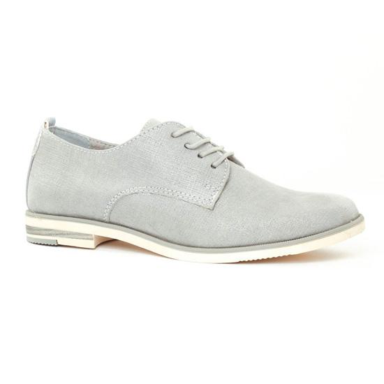 Chaussures À Lacets Marco Tozzi 23202 Grey, vue principale de la chaussure femme