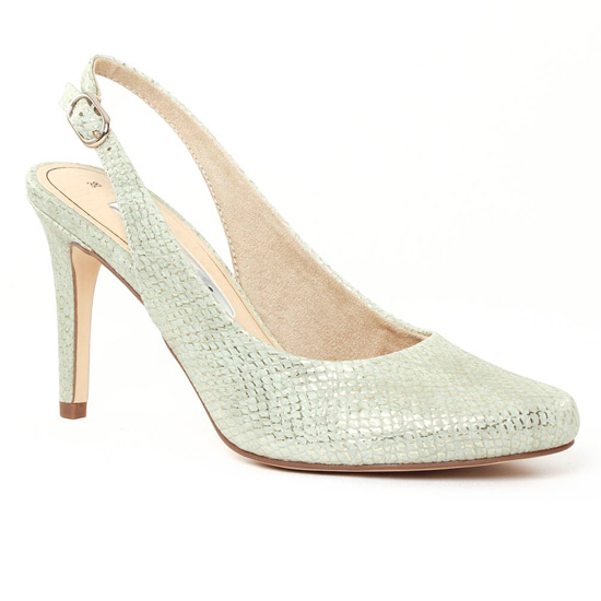 Escarpins Tamaris 29609 Emerald, vue principale de la chaussure femme