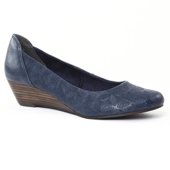 Escarpins Marco Tozzi 22303 Navy, vue principale de la chaussure femme