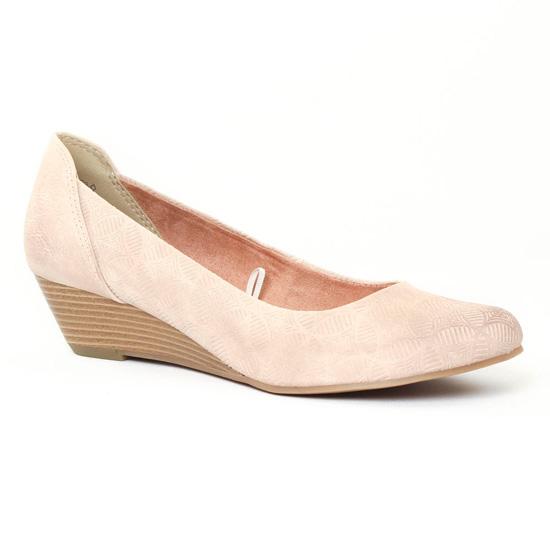 Escarpins Marco Tozzi 22303 Rose, vue principale de la chaussure femme
