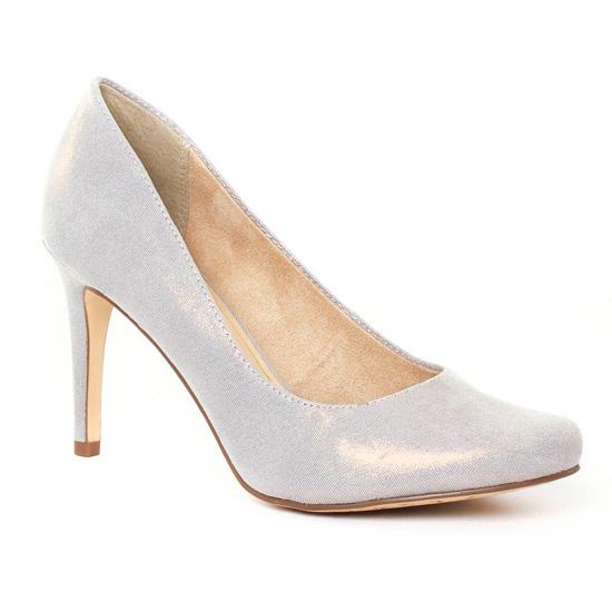 Escarpins Tamaris 22485 Gold, vue principale de la chaussure femme