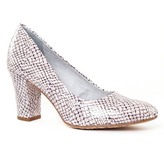 Escarpins Tamaris 22456 Off White, vue principale de la chaussure femme