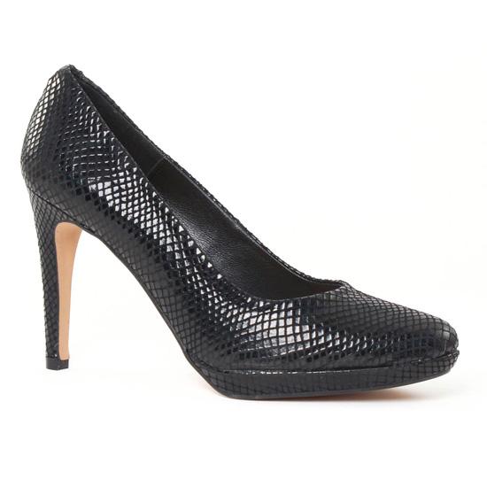 Escarpins Maria Jaen 2066 noir, vue principale de la chaussure femme