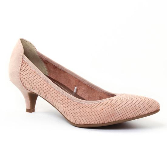 Escarpins Marco Tozzi 22422 Rose, vue principale de la chaussure femme