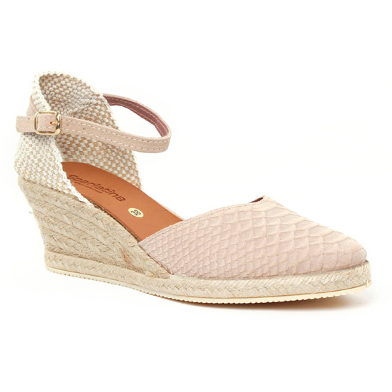 Espadrilles Scarlatine 5n50 Beige, vue principale de la chaussure femme