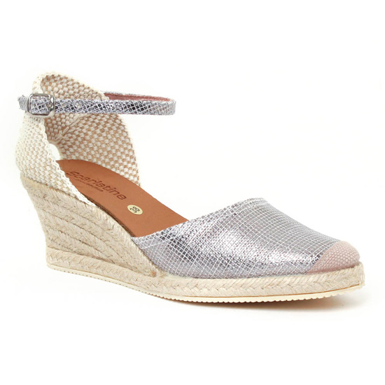 Espadrilles Scarlatine 5n50 Plomb, vue principale de la chaussure femme