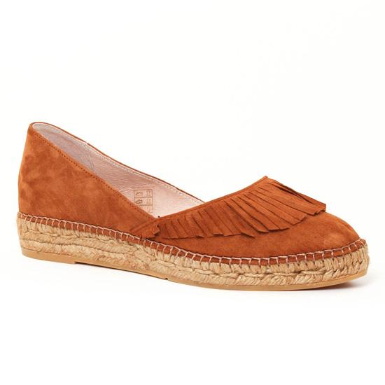 Espadrilles Gaimo Alongra whisky, vue principale de la chaussure femme