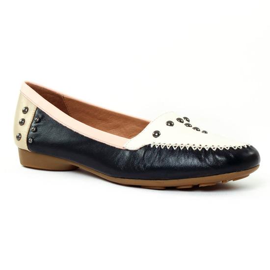 Mocassins Mamzelle Nea Navy, vue principale de la chaussure femme