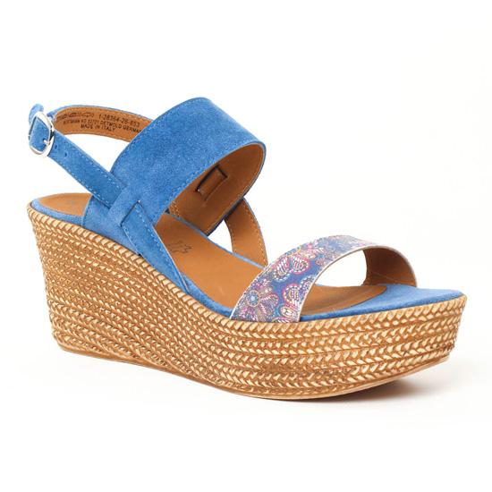 Nu Pieds Et Sandales Tamaris 28364 Denim, vue principale de la chaussure femme