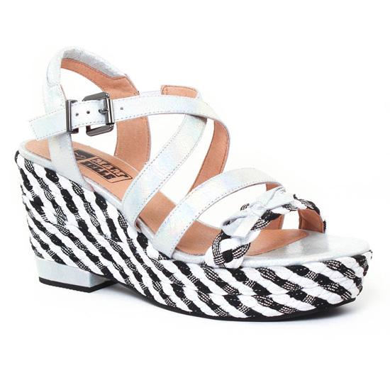 Nu Pieds Et Sandales Mamzelle Waly Acier, vue principale de la chaussure femme