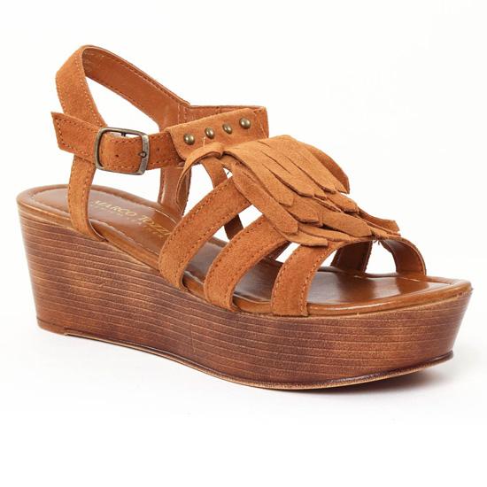 Nu Pieds Et Sandales Marco Tozzi 28353 Muscat, vue principale de la chaussure femme