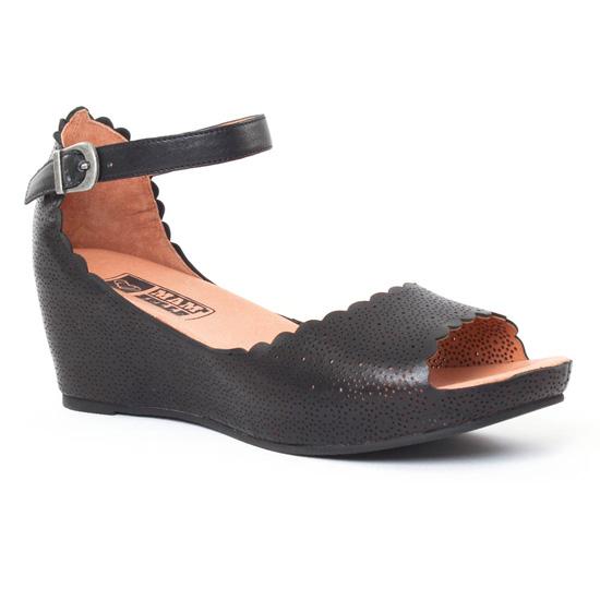 Chaussures à boucle Mamzelle noires femme eaUKyofT