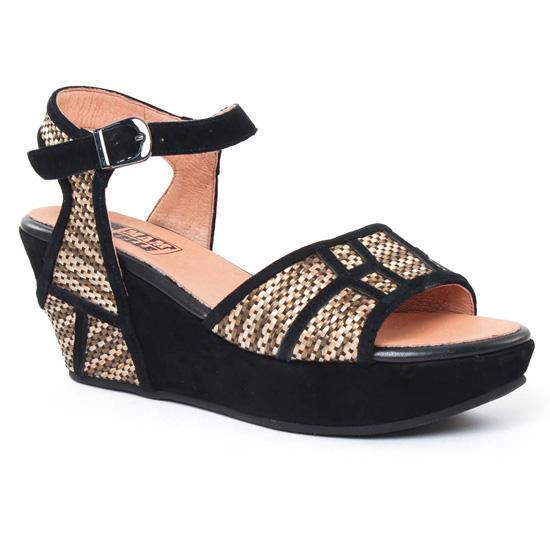 Nu Pieds Et Sandales Mamzelle Matis Noir, vue principale de la chaussure femme