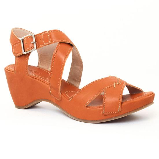 Nu Pieds Et Sandales Khrio 2509 Tan, vue principale de la chaussure femme