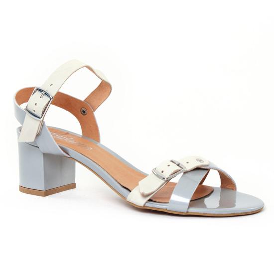 Nu Pieds Et Sandales Scarlatine 44364 Saturne White, vue principale de la chaussure femme