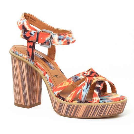 Nu Pieds Et Sandales Tamaris 28333 Boho, vue principale de la chaussure femme