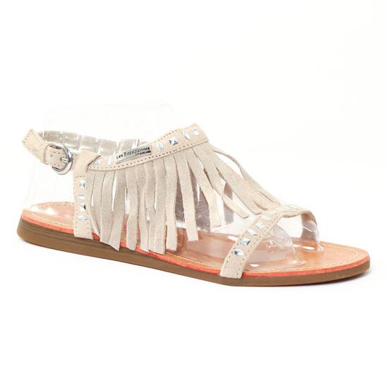 Nu Pieds Et Sandales Les Tropeziennes Gala Ecru, vue principale de la chaussure femme