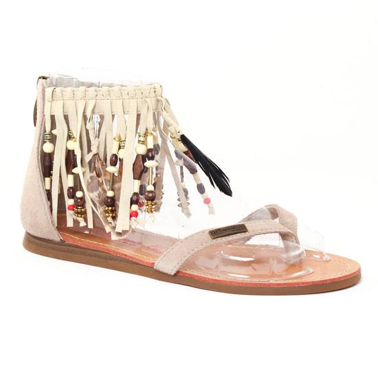 Nu Pieds Et Sandales Les Tropeziennes Gopak Ecru, vue principale de la chaussure femme
