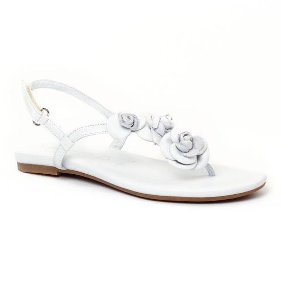 Nu Pieds Et Sandales Tamaris 28121 White, vue principale de la chaussure femme