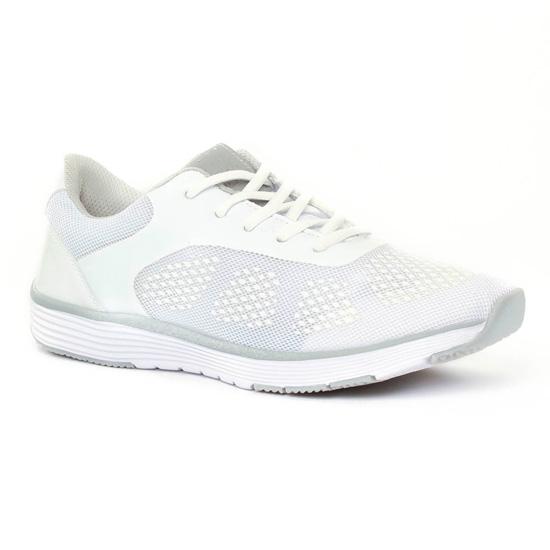 Tennis Et Baskets Mode Marco Tozzi 23714 White, vue principale de la chaussure femme