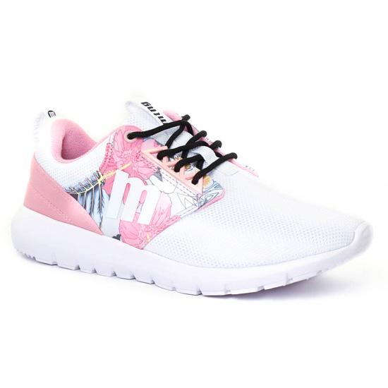 Tennis Et Baskets Mode Mtng 69784 Blanc Multi, vue principale de la chaussure femme