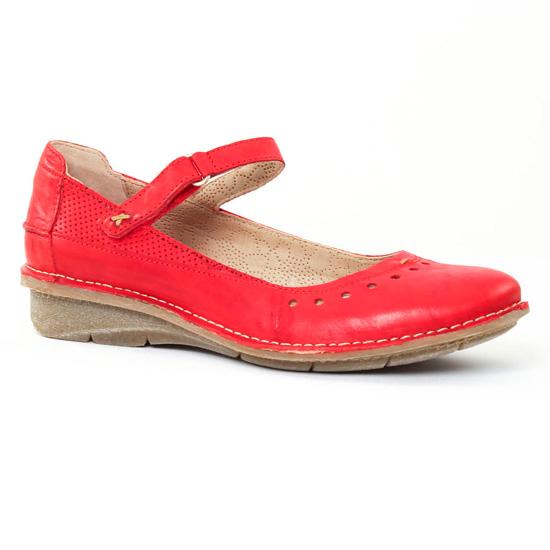 Babies Khrio 2403 Rouge, vue principale de la chaussure femme