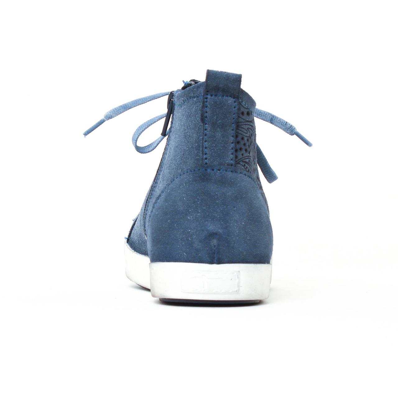 baskets mode bleu mode femme printemps été 2017 vue 7