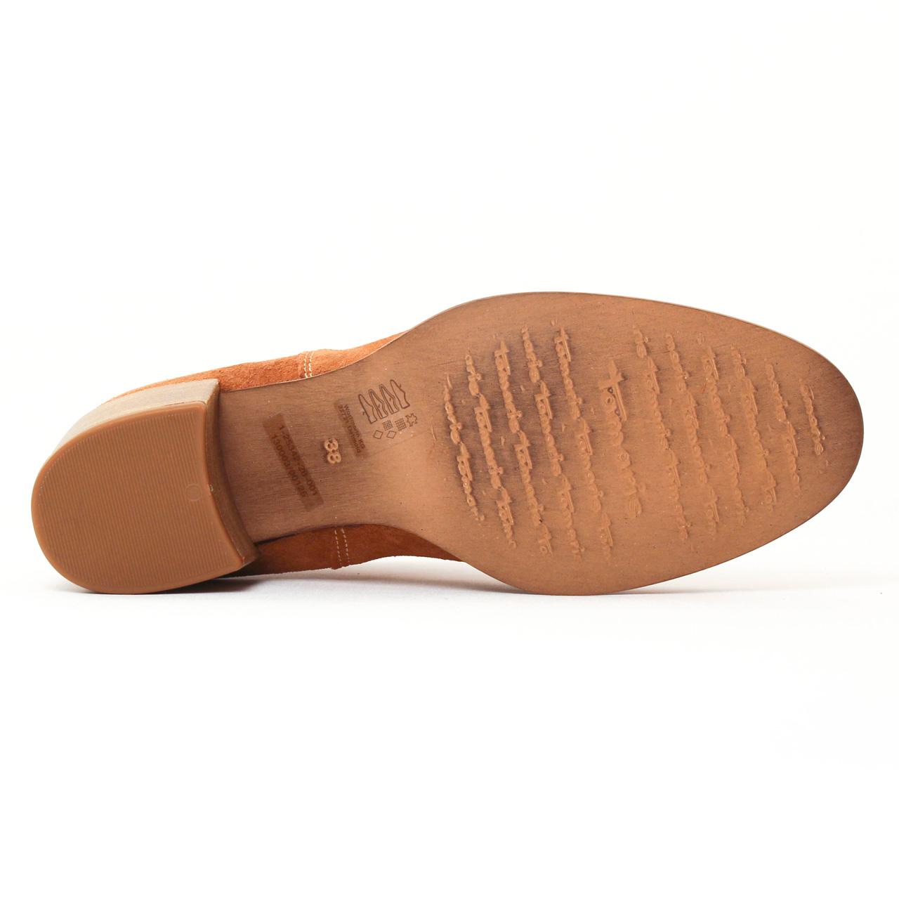 tamaris 25342 cuoio | boot élastiquées marron printemps été chez