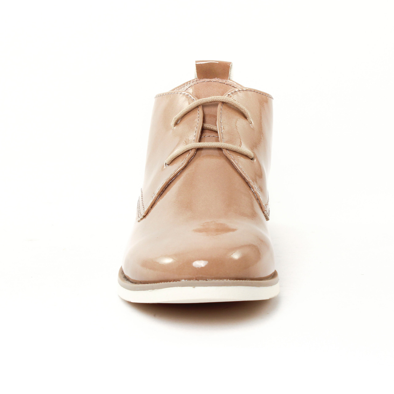 marco tozzi 25119 candy | bottine à lacets beige printemps été