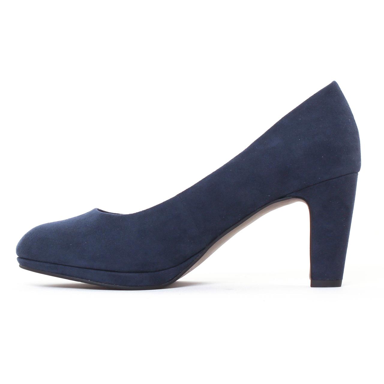 22420, Escarpins Femme, Bleu (Navy), 37 EUTamaris