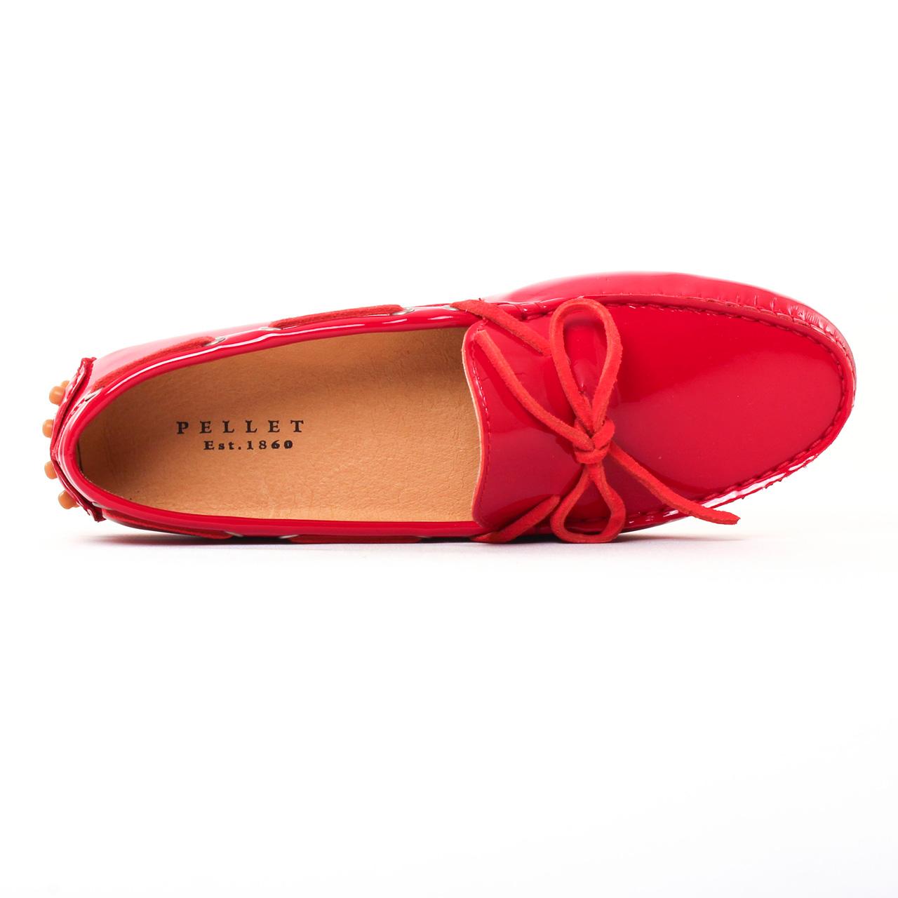 589a90c4a7e688 Christian Pellet Thelma Rouge | mocassins rouge printemps été chez ...