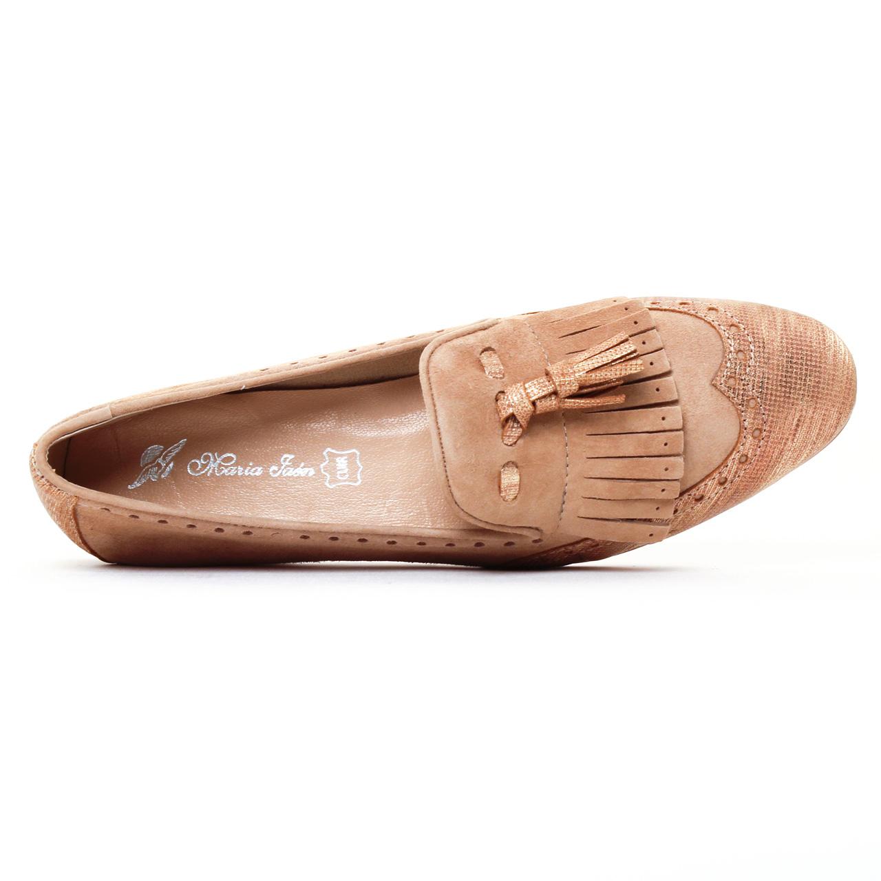 maria jaen 4067 n taupe mocassin slippers beige dor printemps t chez trois par 3. Black Bedroom Furniture Sets. Home Design Ideas