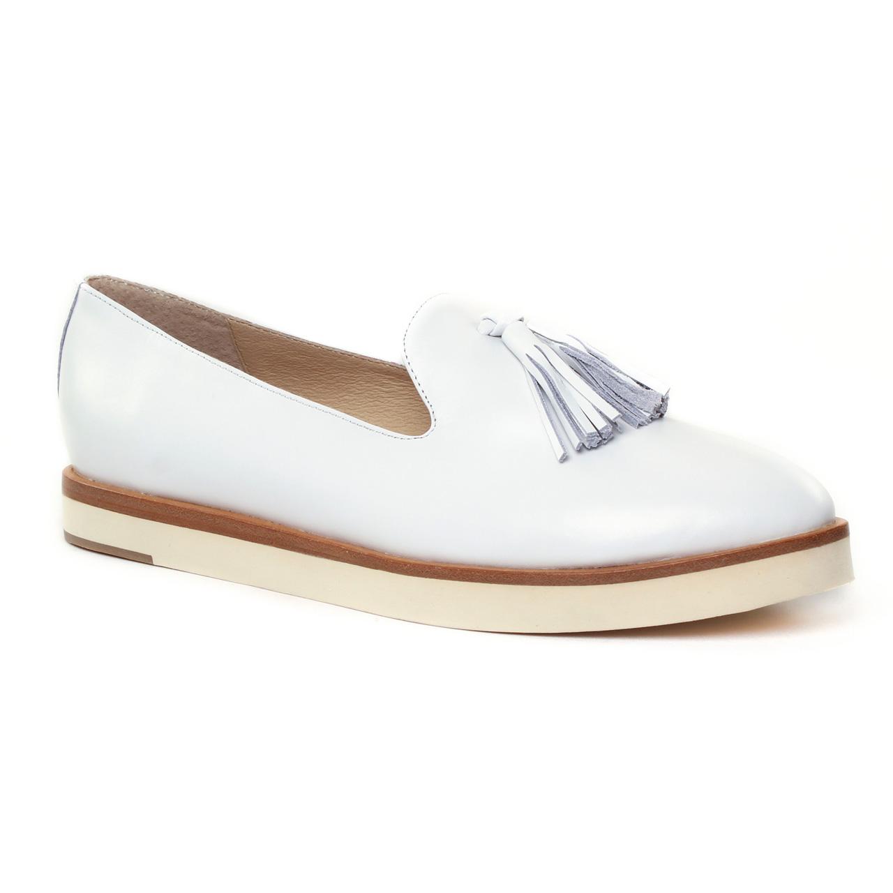 jb martin 1darleen blanc mocassin slippers blanc printemps t chez trois par 3. Black Bedroom Furniture Sets. Home Design Ideas